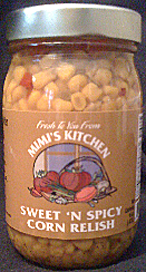 Sweet 'n Spicy Corn Relish from Mimi's Kitchen